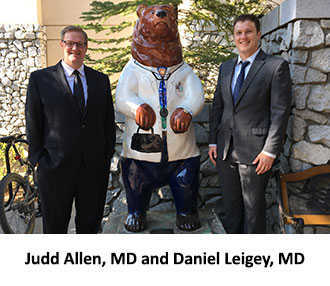 Fellows Judd Allen and Daniel Leigey